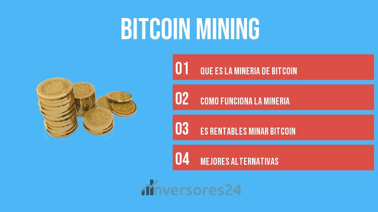 mineria de bitcoin